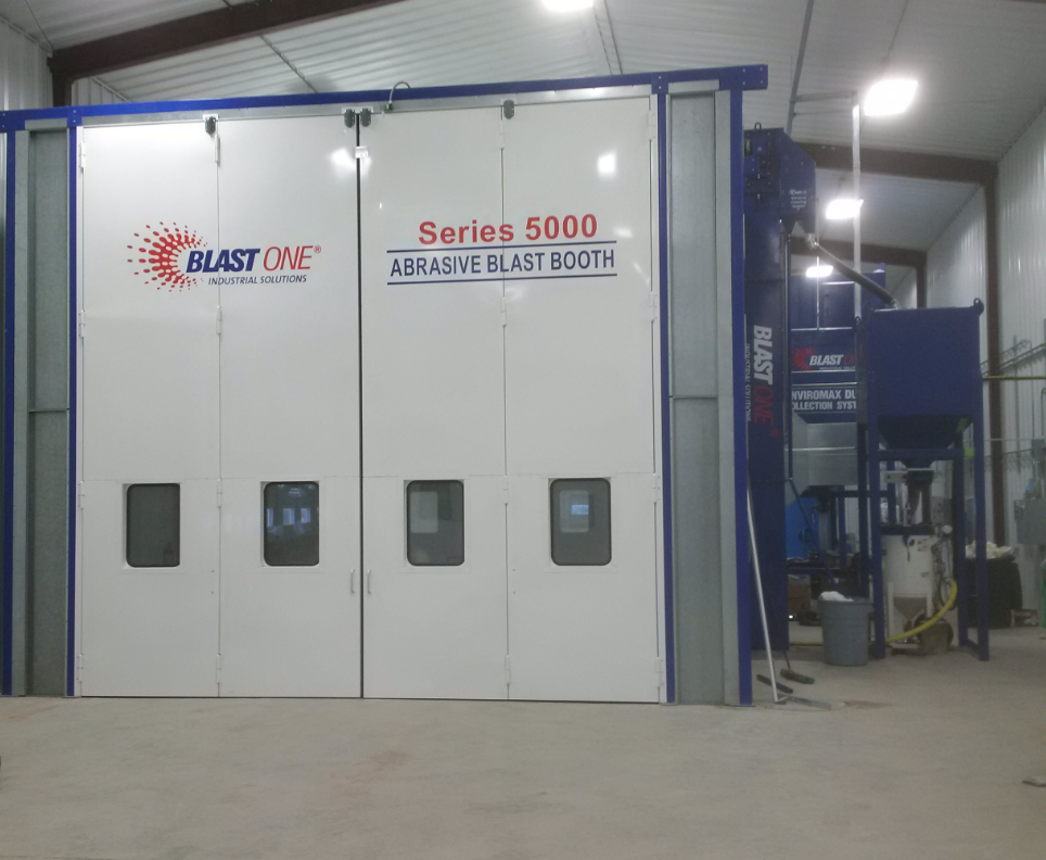 abrasive blasting and spray booths